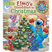 Elmo's Countdown to Christmas (Sesame Street) (Lift-the-Flap)