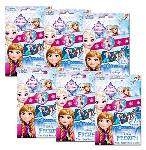lap Snap Bands, Disney Frozen, 6 Foilbags, sortiert ()