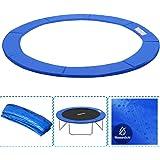 Aufun Randafdekking voor trampoline, Ø244/305/366 cm, veerafdekking, randbescherming van PVC PE voor trampoline, uv-bestendig