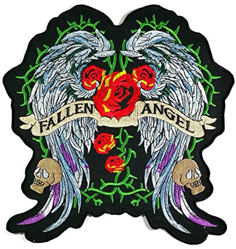 ngel Flügel Kostüm Jacket T-Shirt PATCH Sew Iron on Embroidered Sign Badge ()
