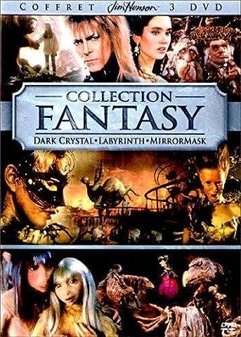 Coffret Jim Henson 3 DVD : Dark Crystal / Labyrinth / MirrorMask