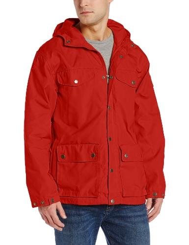 Fjällräven Herren Jacke Greenland rouge profond