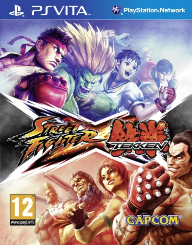 [UK-Import]Street Fighter X Tekken Game PS Vita
