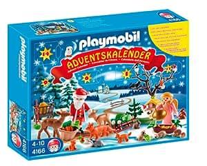 """Playmobil - 4166 - Jeu de construction - Calendrier de l'Avent """" Les animaux de la forêt"""""""