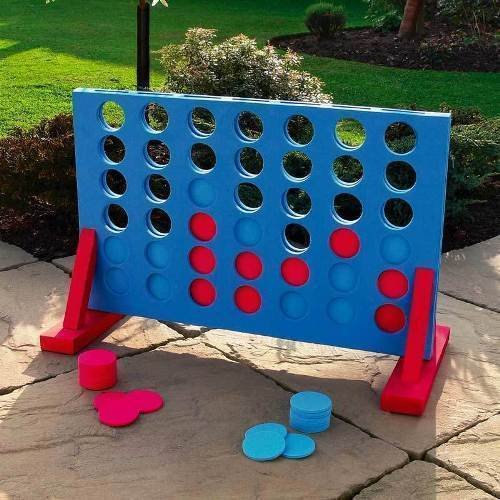 Gadgetzone� Novelty Giant Connect 4 Children's Board Game. Popular Indoor/Outdoor Family Games. School Sports Day Garden Party Games, Limbo Dancer Pub Games Giant Dominoes & Playing Cards. Family Fun Team Building Drinking Games. Skill And Strategy Games.