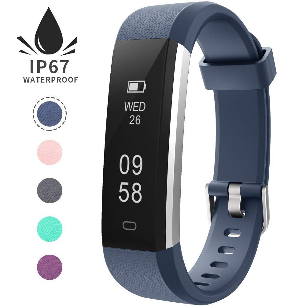 Pulsera de Actividad Inteligente, Sumergible Reloj Deportivo IP67 Smartwatches Cómodo con Pantalla Táctil Longitud… 1