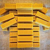 Lot de 32blocs de cire d'abeille pure et naturelle