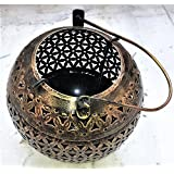 ADA Metal Tealight Candle Holder/ADA Lantern Shaped Candle/Diya Holder Tea Lights Lamps Home Accent Decorative Accessory For Garden Tables, Open Seating, Indoor Lighting Hanging Lalten.