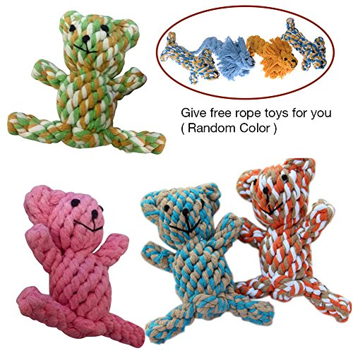 Cute-Braided-Knotted-Bear-Rope-Toys-for-Pet-Dog-Puppy-Cat-Chew-Toy-Random-Color