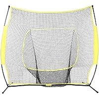 flabor Softball Baseball Praxis Net mit Bogen Rahmen Compact Tragetasche Softball Ausbildung Net