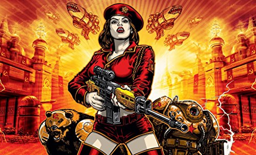 Infinite Arts Command Conquer Red Alert 3 (39inch x 24inch/99cm x 60cm) Silk Print Poster - Silk Printing - 594AFE