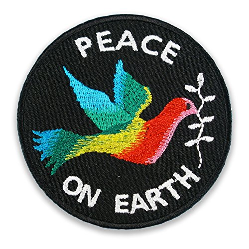 peace-on-earth-flower-power-friedenstaube-weltfrieden-regenbogen-aufnaher-aufbugler-patch-sticker