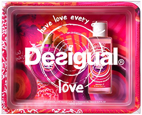 Orange Blossom Perfume Oil (Desigual Coffret Textile Plus Perfume (50 ml) Plus Massage Oil  (150 ml) 47FP050L001U, 1er Pack (1 x 50 ml))