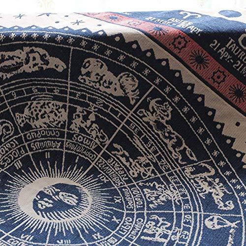 BAIF Verdickte [Quaste] Decke, dekorative Wohnzimmer Chenille Soft Couch deckt Slipcover Sofa Schonbezug-A 90x150cm - Wohnzimmer Stuhl Deckt