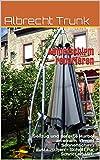 Ampelschirm reparieren: Seilzug und defekte Kurbel an einem Ampel Sonnenschirm austauschen - Schritt für Schritt erklärt.