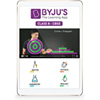 "BYJU'S Class 8 - Maths & Science Preparation - CBSE - 10"" Tablet"
