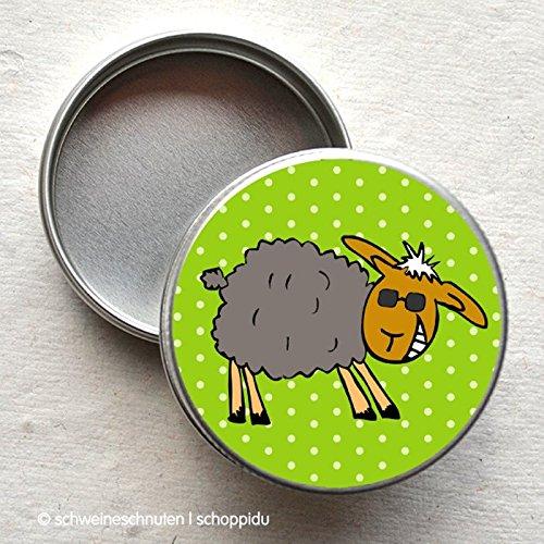 Minidose Freches Schaf mit Sonnenbrille