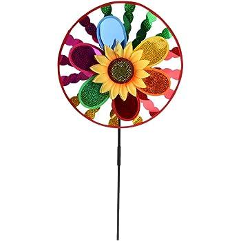 Happy People 83244 XXL bunt Garten Balkon Terasse Dekoration NEU Windmühle