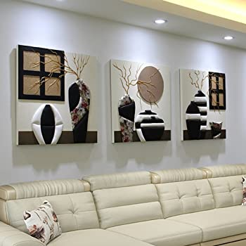 Amazon.de: Wandmalereien Wohnzimmer Sofa Hintergrund Wandbilder ...