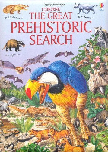 Great Prehistoric Search (Usborne Great Searches) by Jane M. Bingham (2010-12-01)