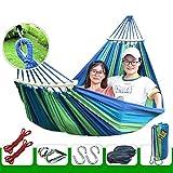 Outdoor-Camping Doppel-Rollover einzelne dicke Leinwand Schüler Innenschlafsaal Schlafzimmer Schaukel faulen Stuhl ( Color : Green )