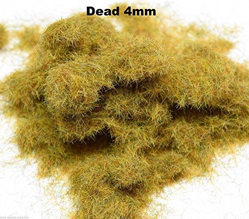 WWS Morto 4 millimetri Model Mix Basing Statico Grass 10g G, O, HO / OO, TT, N.Z Wargames
