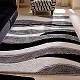 SESO UK-CAR Moderne Shaggy Carpet Weichen Bequemen Fine Rutschfeste Große Fläche Teppich für Wohn- & Schlafzimmer Dekor Dicke -2.3cm (Größe : 140x200cm)