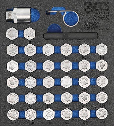 Bgs 9469 Jante Serrure de Kit d'outils pour Mercedes-Benz | 35 pièces