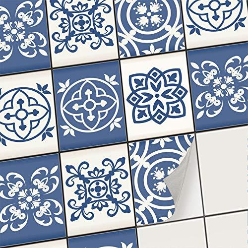 creatisto Mosaik-Fliesen Fliesensticker Fliesenfolie - Klebe Folie für Wandfliesen | Stickerfliesen - Mosaikfliesen für Küche, Bad, WC...