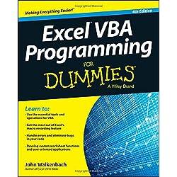 Excel VBA Programming For Dummies, 4th E