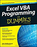 Excel VBA Programming For Dummies, 4th E