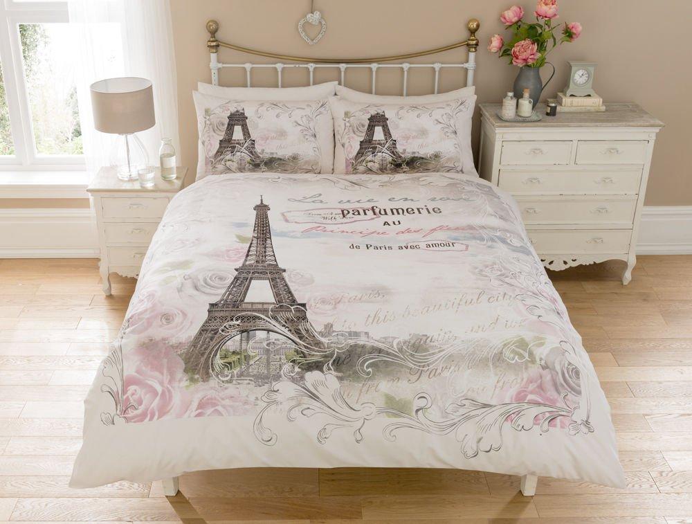 LUXURY PARIS EIFFEL TOWER FLORAL FLOWERS ROSES CALLIGRAPHY SCRIPT ...