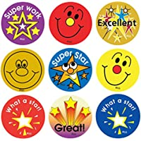 Sticker Solutions Stars and Smiles Reward Stickers (Pack of 180)