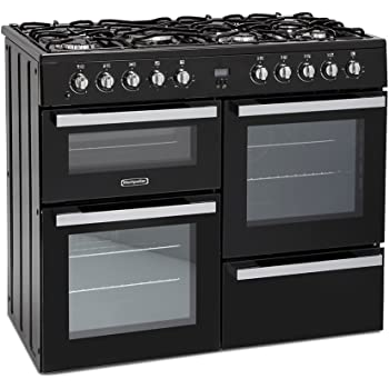Betere Belling Farmhouse 90 DFT Range cooker Gas Stove Black - Ovens and EA-15