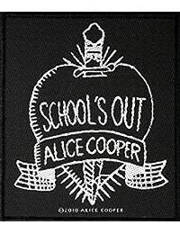 Alice Cooper Aufnäher SCHOOL´S OUT Patch gewebt 8,5 x 10 cm