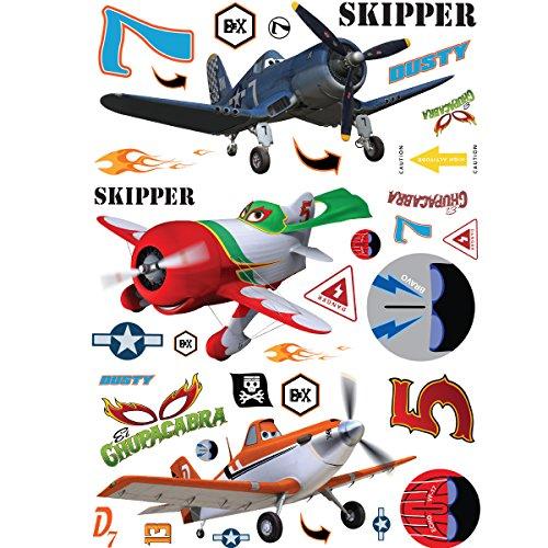 Sticker Mural Planes 17,5cm x 36,5cm
