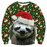 Weihnachtskoala Pullover Digitaldruck 3D