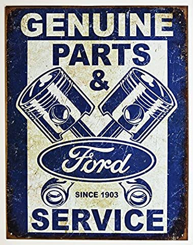 Ford Service – pistons Tin Sign 13 x 16 en