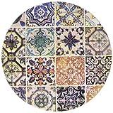 Thirstystone Steingut Lissabon Fliesen Untersetzer, multicolor