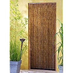 Leguana - Cortina para puerta de bambu saigón xxl 115x220cm !