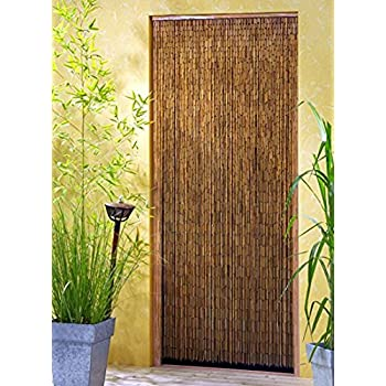 Marvelous Saigon Bamboo Beaded Door Curtain XXL 115 X 220 CM