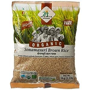 24 Mantra Organic Sonamasuri Raw Rice Brown Organic