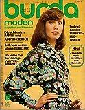 Burda Moden Nr. 10/1972 Die schönsten Party-und Abendkleider