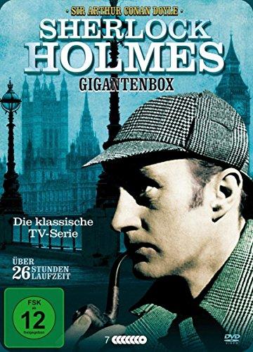Sherlock Holmes - Gigantenbox (7 Discs, teilw. OmU)