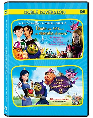 Pack Érase Una Vez... Un Cuento Al Revés 1+2 [DVD]