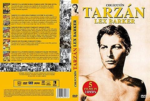 Tarzan - Lex Barker Collection (5 Filme) [3 DVDs] [Spanien Import]