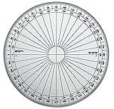 Graphoplex GX115D Rapporteur cercle entier Transparent