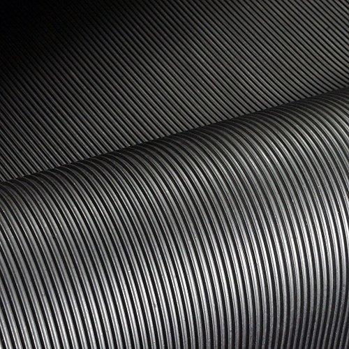 4mm St/ärke 2m/² 1,2 x 1,67m Gr/ö/ße w/ählbar Farbe: Schwarz Feinriefenmatte
