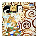 elOleo Wandbild 120x120 Ölbild auf Leinwand 89822G_FG