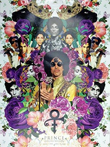 Tri-Seven Entertainment Póster conmemorativo de Prince (2016), edición limitada